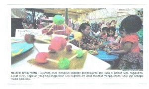 Liputan Tribun Jogja 4 Juli 2015 Kids Day Galeria Mall